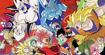 Every Dragon Ball Character, Together