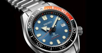 """The Seiko Prospex Gets a Limited Edition """"Twilight Blue"""" Makeover"""
