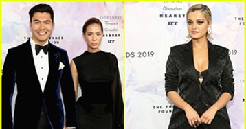 Henry Golding & Wife Liv Lo Couple Up at Fragrance Foundation Awards 2019!