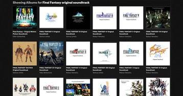 There's A Whole Lot Of Final Fantasy Music On Spotify Now