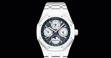 Audemars Piguet Just Dropped a $93,900 White Ceramic Timepiece