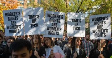 Google walkout organizer walks away
