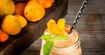Нежнейший абрикосовый смузи