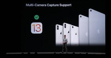 В iOS 13 дебютирует режим одновременной съёмки на две камеры