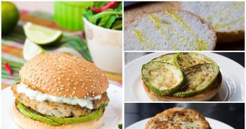 Куриный бургер со сметанным соусом: пошаговый фото рецепт