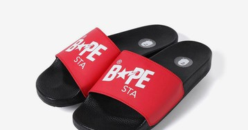 BAPE Drops the BAPE STA Slide in Three Summer Colorways