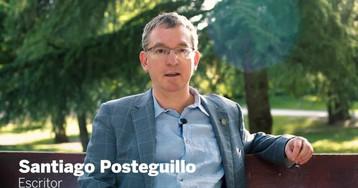 """Santiago Posteguillo: """"Uso Amazon, como todo el mundo. Y no me parece mal. Lo peligroso es el monopolio"""""""