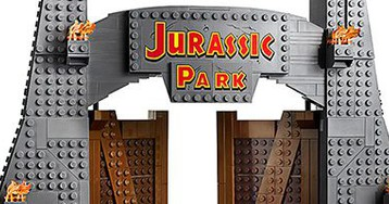 LEGO Reveals Massive 'Jurassic Park' Set; Contains over 3,000 Pieces