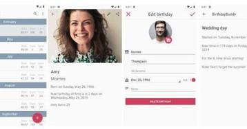 BirthdayBuddy: приложение для дней рождения