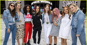Emma Stone Meets Spice Girls Before Their Sold-Out Concert!