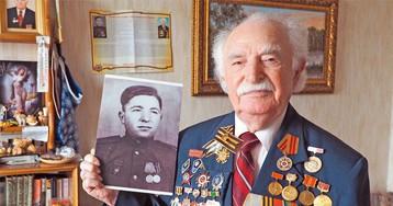 Дошёл до Берлина. Ветеран войны Григорий Цибульский – о себе и своих внуках