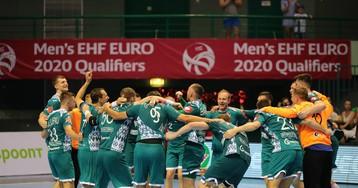 Гандболисты сборной Беларуси с разницей в 25 мячей разгромили финнов и вышли на чемпионат Европы