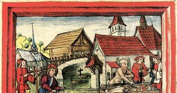 Средневековые ордалии: от каленого железа до хлеба и сыра
