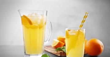 Освежающий апельсиновый лимонад