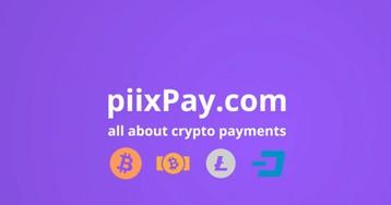 Piixpay позволяет оплачивать счета в криптовалюте