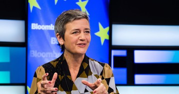 Faltering German Hands Vestager Chance to Claim Europe's Top Job