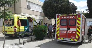 Tres heridos por una explosión en el laboratorio de un instituto de Sevilla