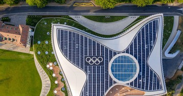 3XN's olympic HQ in lausanne emulates the movements of an athlete