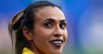 Marta pode ter quebrado uma regra da Fifa no jogo contra a Itália