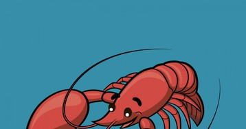 Анекдот про лобстера изэлитного рыбного ресторана