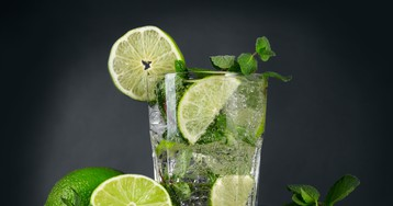 Летний безалкогольный мохито