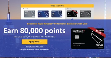 Southwest's New Business Card Has a Huge Welcome Offer For Companion Pass Chasers