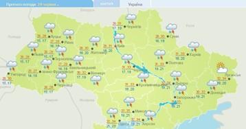Накриють сильні зливи: коли у Києві почнеться похолодання