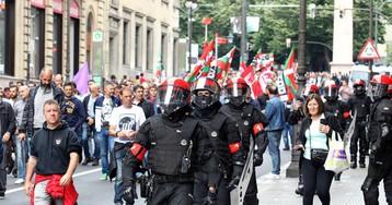 Un detenido y tres imputados en la huelga del Metal de Bizkaia