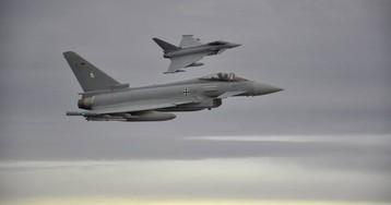 Dos Eurofighter se estrellan en Alemania tras chocar durante un vuelo de entrenamiento
