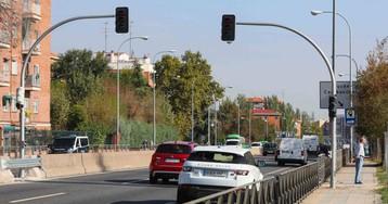 Los semáforos de la A-5 dejarán de funcionar esta misma semana