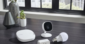 Samsung adds an affordable, wide-angle camera to its lineup of SmartThings products