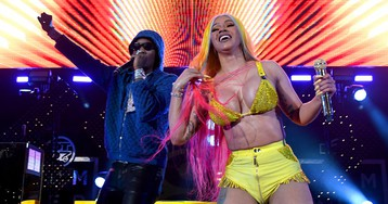 Cardi B & Offset Reportedly Drop $100K on Chain for Baby Kulture's 1st Birthday