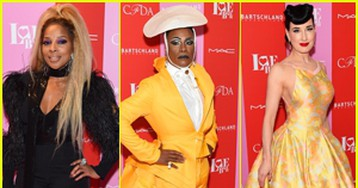 Mary J. Blige, Billy Porter, & Dita Von Teese Dress to Impress for Love Ball 2019