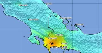 Un terremoto de magnitud 6,3 sacude la frontera entre Costa Rica y Panamá