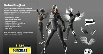 How to get the Fortnite Shadows Rising skin bundle
