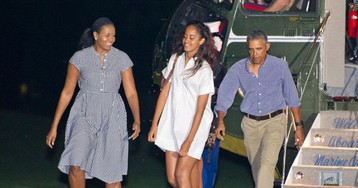 Finally! According to the Obama Women, It Is Now Officially Sundress and Sneaker Season