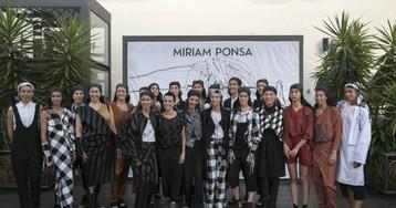 Miriam Ponsa se emancipa de la 080 con un desfile de empoderamiento de la mujer