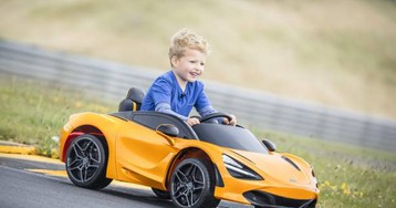 McLaren 720S Ride-On gives young supercar fans an authentic ride