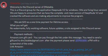 Discord Just Banned a Server Selling DeepNude, an App That Undresses Photos of Women