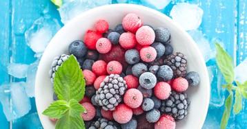 Правила заморозки летних фруктов и ягод