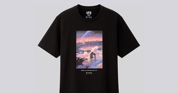 Uniqlo Taps 'Your Name' Director Makoto Shinkai for Anime T-Shirt Capsule