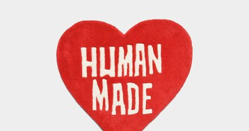 Bring Some Heart to Your Home With This Human Made Rug