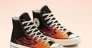 Converse's Archive Print Chuck 70s Are Literal Flames