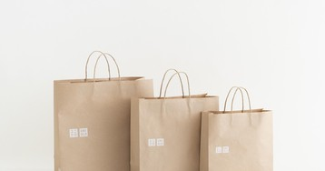 Uniqlo Is Launching Reusable Bags to Reduce Plastic Usage