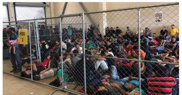 Photos of dangerous overcrowding at US border patrol detention centers