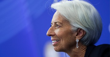 """Christine Lagarde says women should use the """"glass cliff"""" to their advantage"""