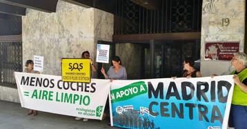 La Plataforma en Defensa de Madrid Central presenta otro recurso contra la moratoria de multas