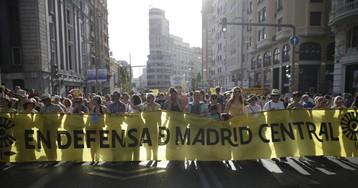 """Un juez reactiva Madrid Central para evitar que la contaminación suba """"sin control alguno"""""""