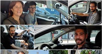 """""""Ir en coche me da menos pereza"""""""