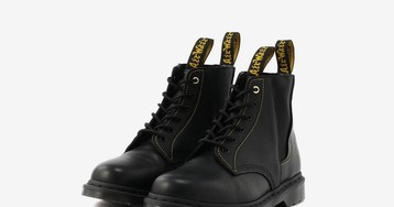 Yohji Yamamoto and Dr. Martens Continue Their Collab with New Six-Eye Boot